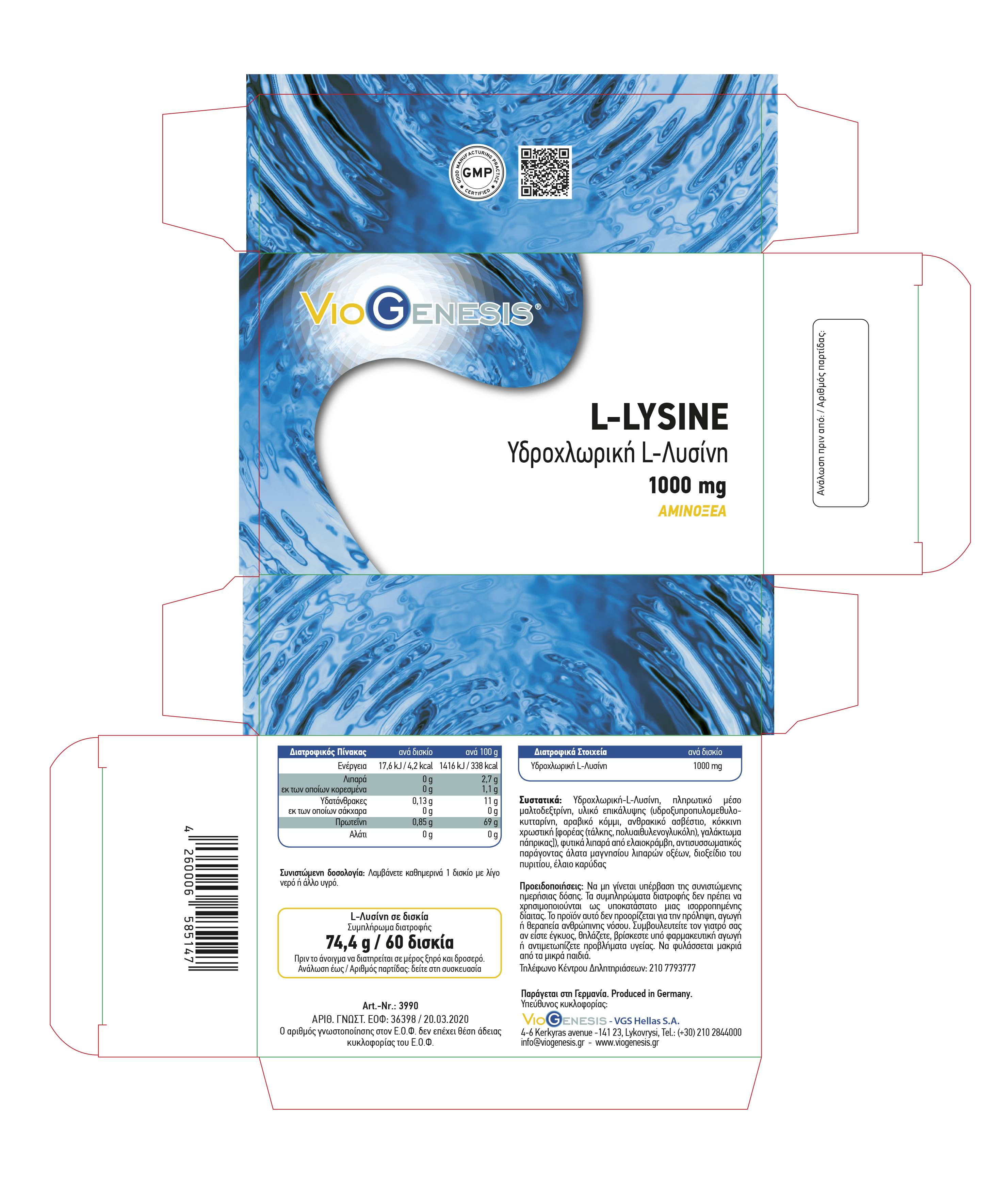 L-LYSINE-1000mg-LABEL